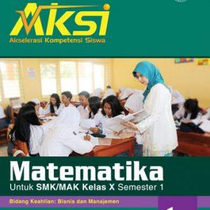 buku aksi matematika smk kelas x semester 1 bisnis manajemen