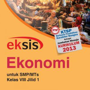 buku eksis ekonomi smp-mts kelas viii jilid 1