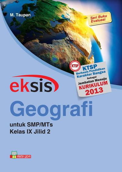 buku eksis geografi smp-mts kelas ix jilid 2