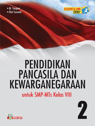 buku ppkn smp-mts kelas viii kurikulum 2013