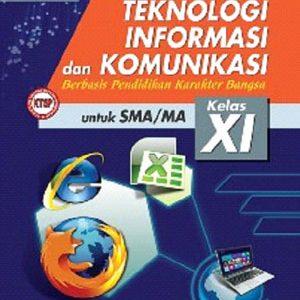 buku teknologi informasi dan komunikasi berbasis karakter sma kelas xi