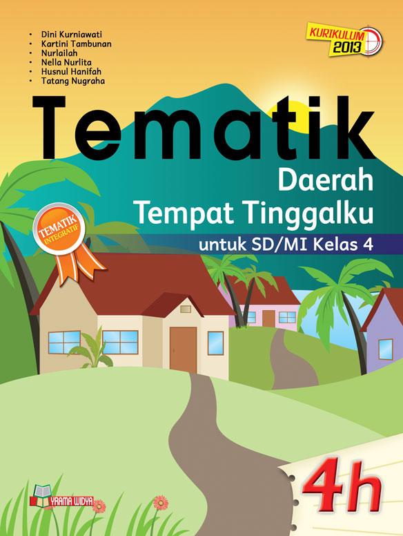 buku tematik 4h daerah tempat tinggalku