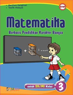 buku matematika berbasis karakter untuk sd/mi kelas 3