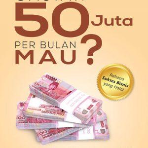 buku gajian 50 juta per bulan