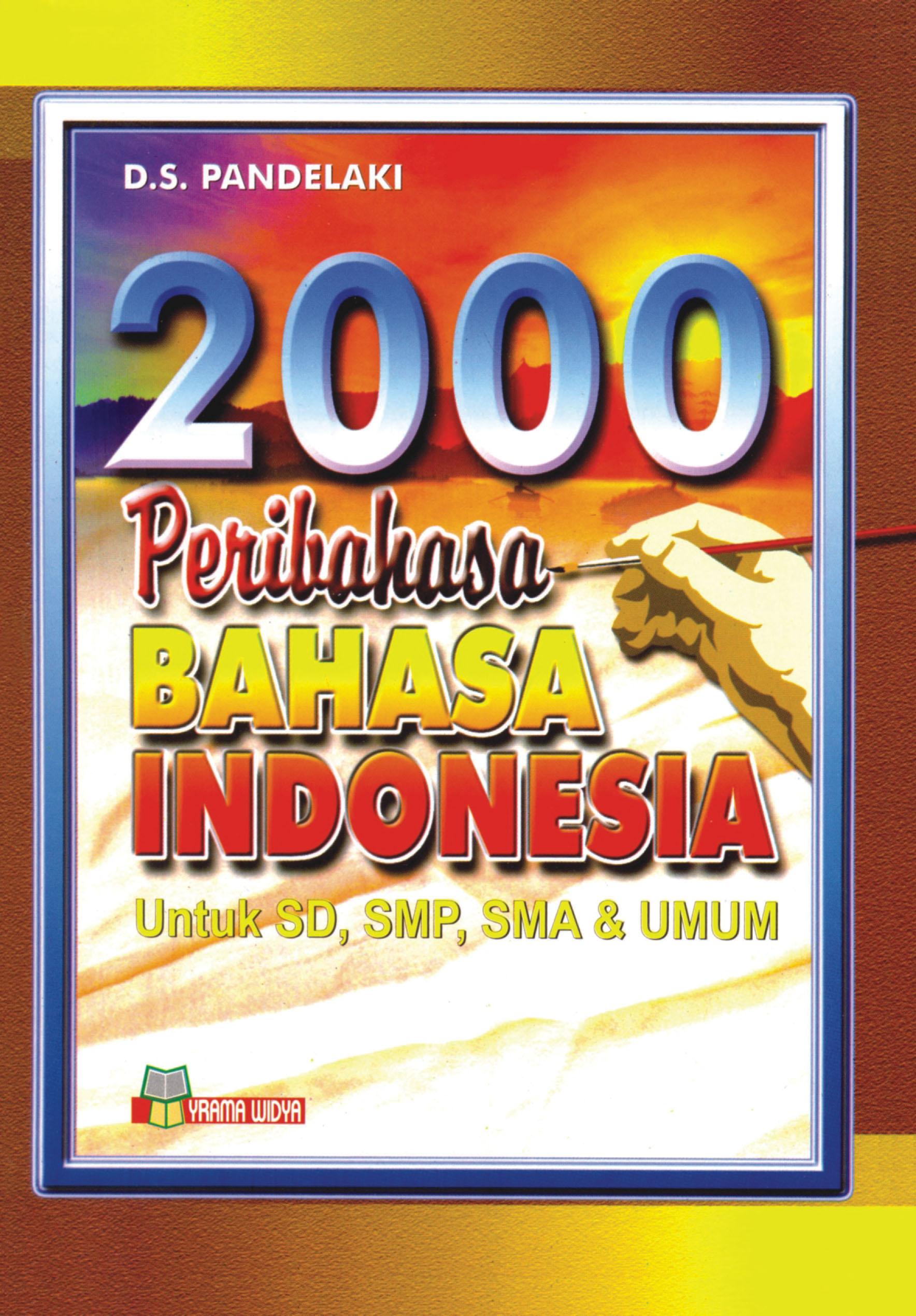 buku 2000 peribahasa bahasa indonesia