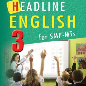 buku headline english 3 for smp-mts