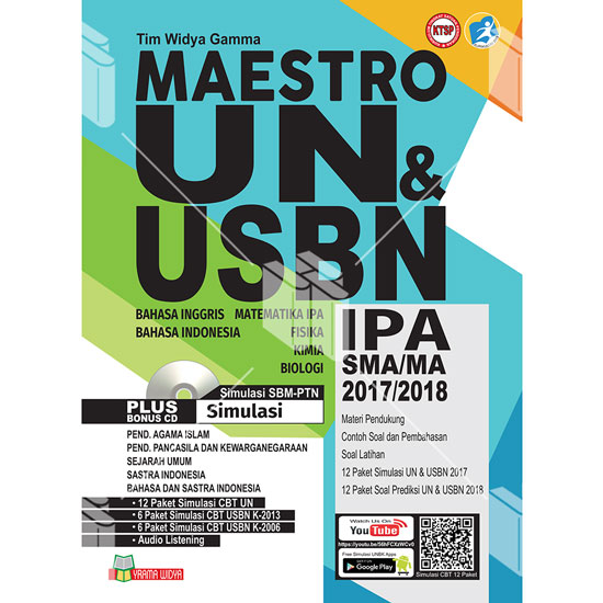 Buku Maestro UN dan USBN IPA