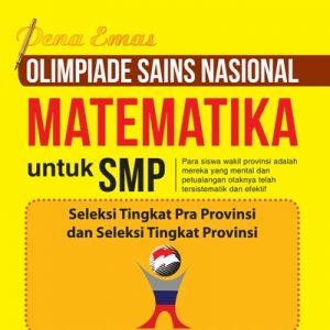 pena emas olimpiade sains nasional matematika untuk smp
