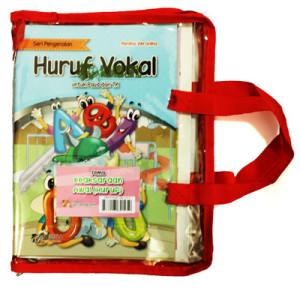 paket seri pengenalan dan kreasiku tema keaksaraan awal huruf