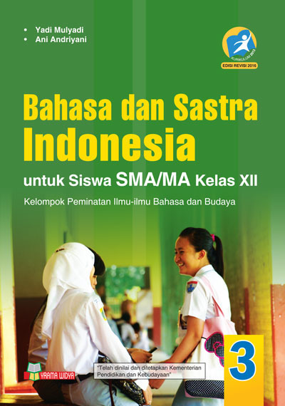 buku bahasa dan sastra indonesia sma/ma kelas xii