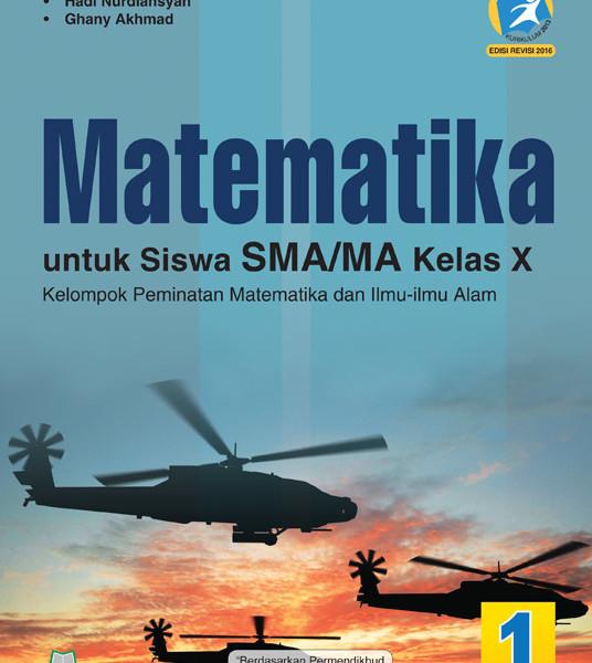 buku matematika sma/ma kelas x peminatan