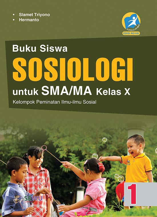Buku Sosiologi Untuk Sma Ma Kelas X Peminatan K 13 Revisi