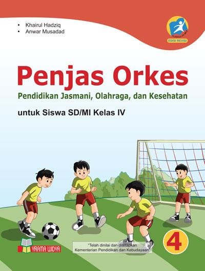 buku penjas orkes untuk sd/mi kelas iv