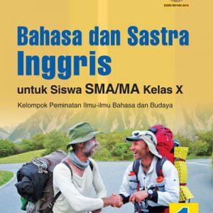 buku bahasa dan sastra inggris sma/ma kelas x