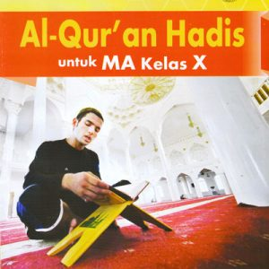 buku al-quran hadis ma kelas x