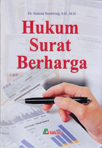 Buku Hukum Surat Berharga Nuansa Aulia