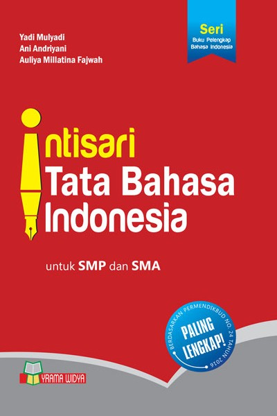 buku intisari tata bahasa indonesia smp dan sma
