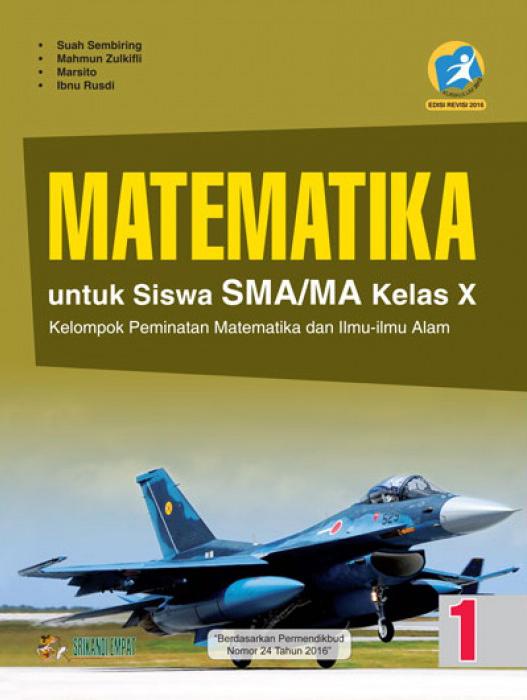 buku matematika untuk sma/ma kelas x peminatan