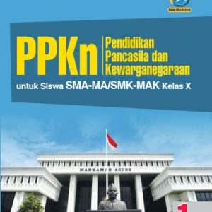 buku ppkn sma-ma/smk-mak kelas x