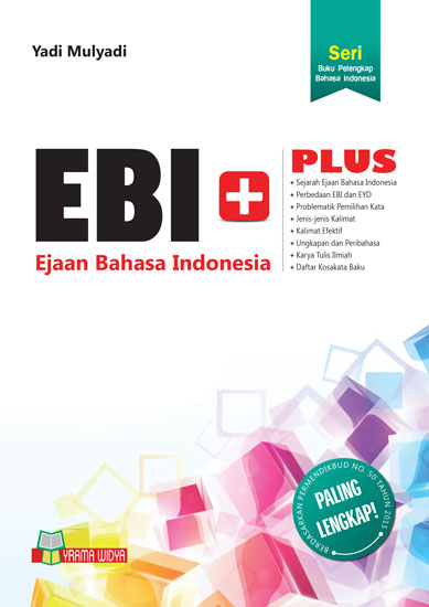 buku ejaan bahasa indonesia plus