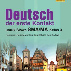 buku deutsch der erste kontakt untuk sma/ma kelas x