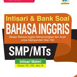 buku intisari dan bank soal Bahasa inggris smp