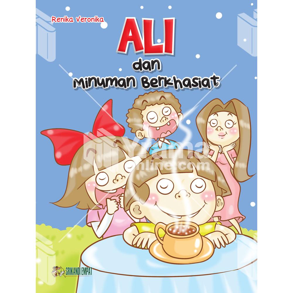 Buku Ali dan Minuman Berkhasiat