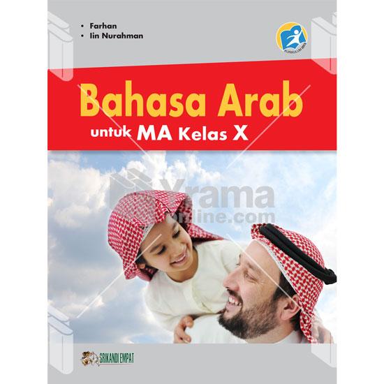 buku bahasa arab untuk ma kelas x