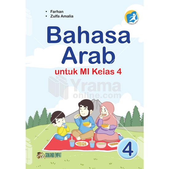 Buku Bahasa Arab untuk MI kelas 4