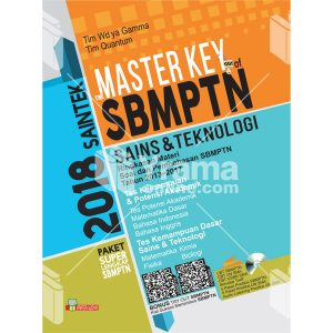 buku master key of sbmptn saintek ipa 2018
