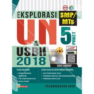 buku eksplorasi un dan usbn smp/mts 2018