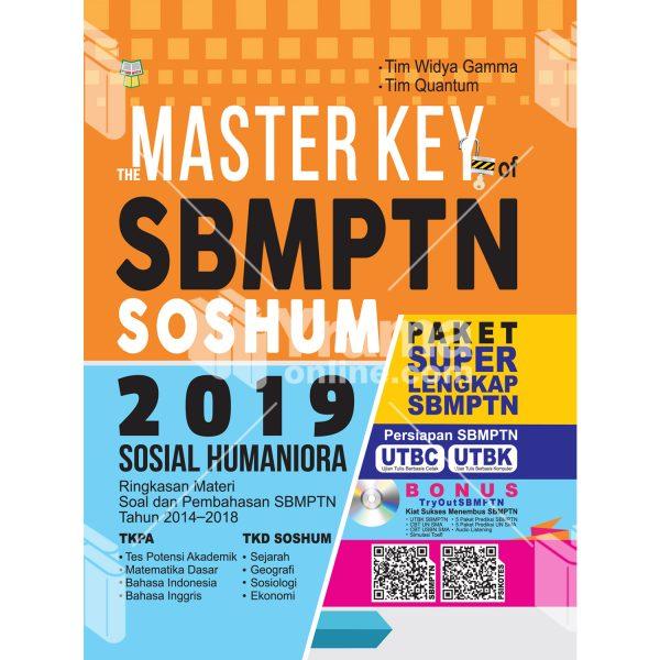 buku the master key of sbmptn soshum 2019