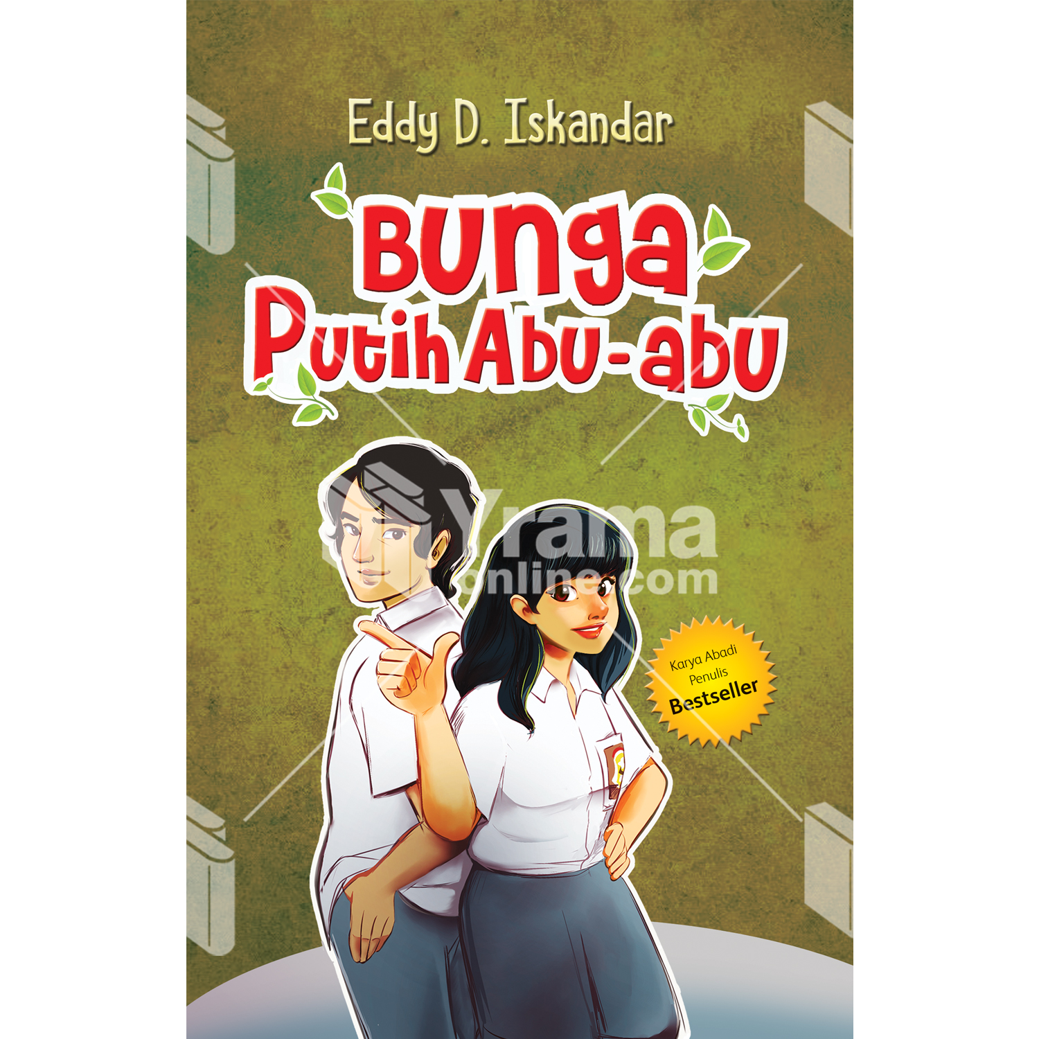 novel bunga putih abu-abu