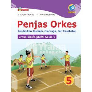 buku penjas orkes sd/mi kelas v kurikulum 2013 revisi