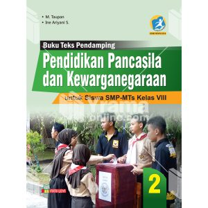 buku ppkn untuk smp-mts kelas viii kurikulum 2013 revisi