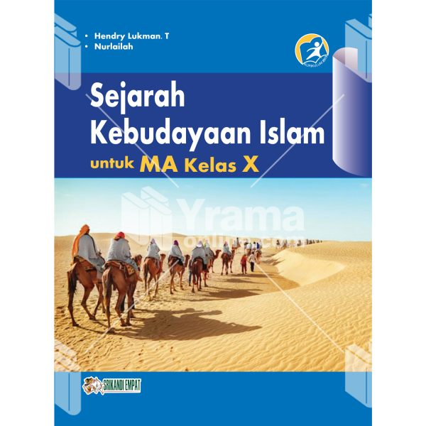 buku sejarah kebudayaan islam untuk ma kelas x wajib