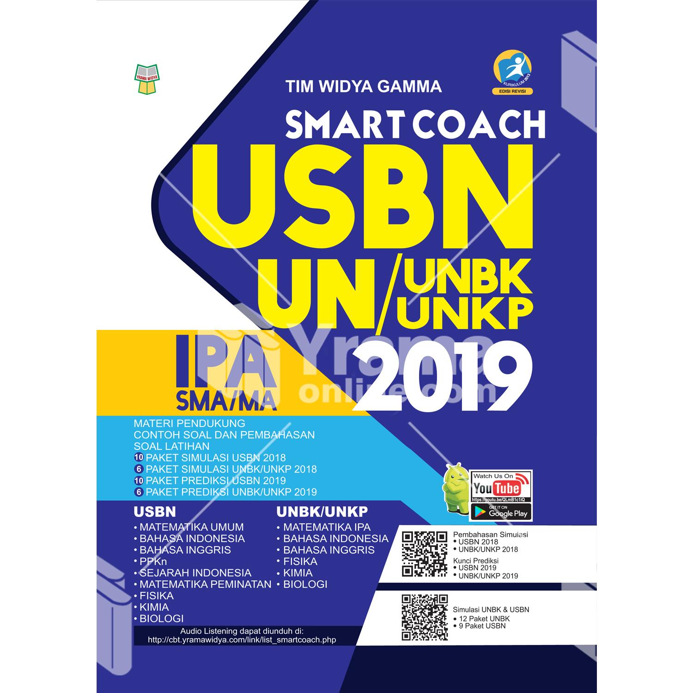buku smart coach usbn dan un (unbk/unkp) ipa sma/ma 2019