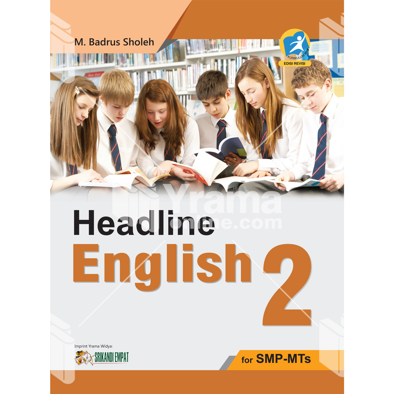 buku headline english 2 for smp