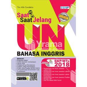 buku saat-saat jelang un bahasa inggris smp-mts 2018