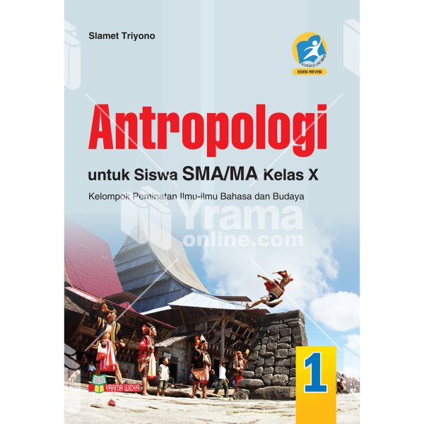 buku antropologi sma/ma kelas x