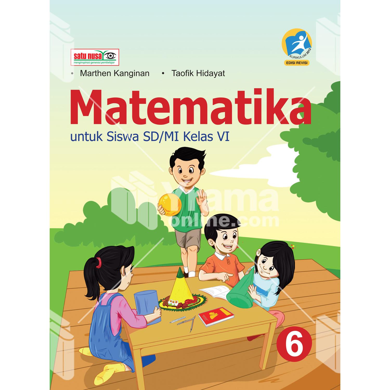 buku matematika untuk sd mi kelas vi