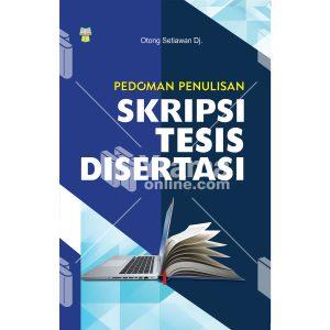 buku pedoman penulisan skripsi tesis disertasi