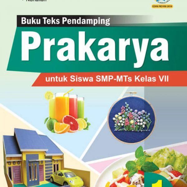 buku prakarya smp-mts kelas vii kurikulum 2013 revisi