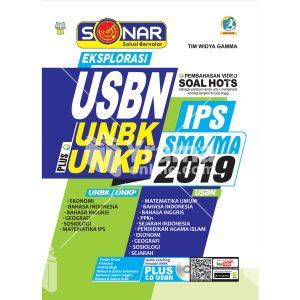 buku sonar eksplorasi usbn plus unbk/unkp sma ips 2019