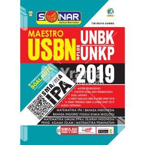 buku sonar maestro usbn plus unbk/unkp sma/ma ipa 2019