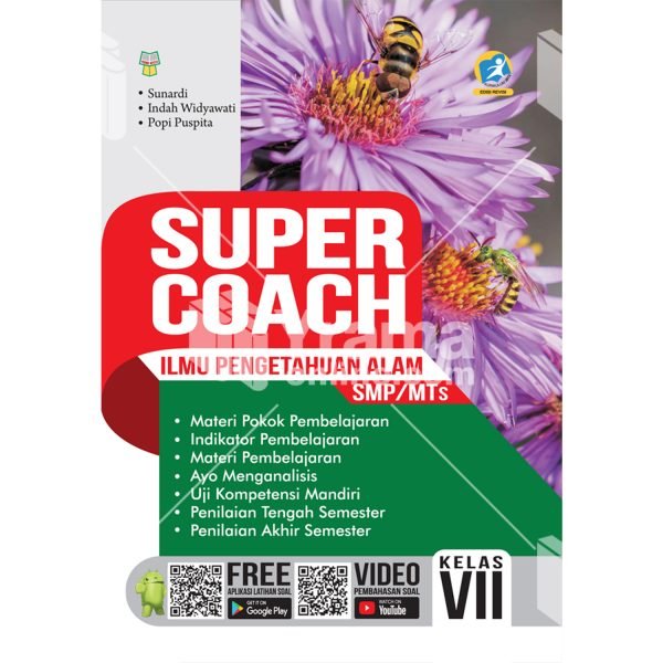 buku super coach ilmu pengetahuan alam smp/mts kelas vii