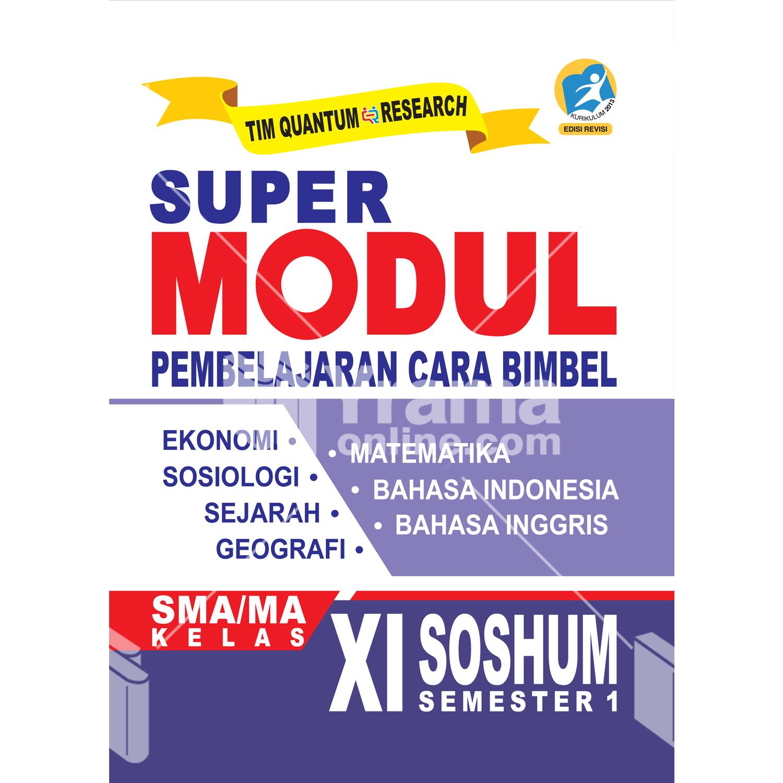 buku super modul sma/ma kelas xi soshum semester 1