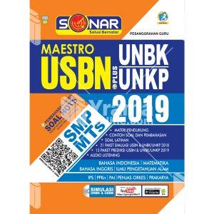 buku sonar maestro usbn plus unbk/unkp smp/mts 2019
