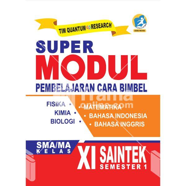buku super modul sma/ma kelas xi saintek semester 1