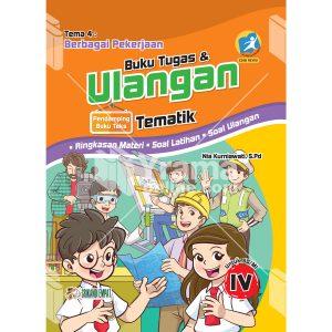 buku tugas dan ulangan tematik sd kelas 4 tema 4